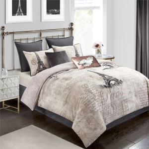 Paris Reversible Comforter Set