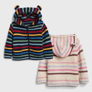 Stripe Garter Sweater