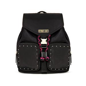 Studded Flap Backpack