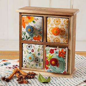 Spice/Tea Box