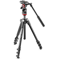 Manfrotto BeFree Live Fluid Hea