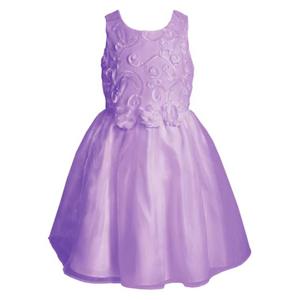 Rosette Soutache Dress