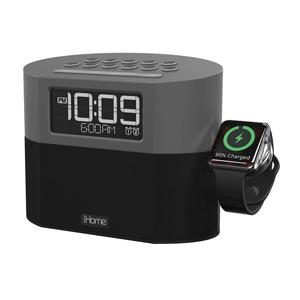 Dual-Alarm Clock Radio
