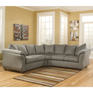2-Pc Sectional Sofa