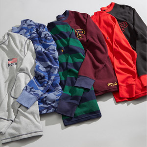Waffle-Knit Thermal Collection