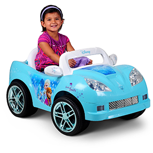 Disney Frozen Convertible Car