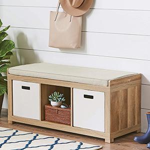 3-Cube Organizer Bench