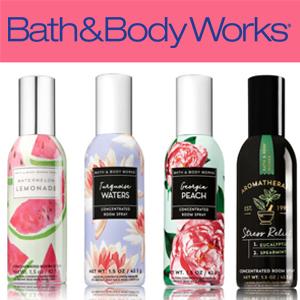 Bath & Body Works room sprays