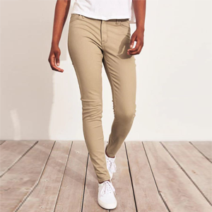 Stretch Mid-Rise Jeans