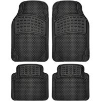 4-Piece Car Floor Mat Set