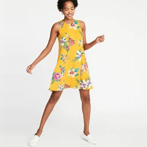 Jersey Swing Dress2