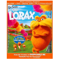 Blu-rays Dr Seuss The Lorax