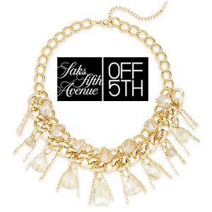 Saks fifth Jewelery