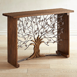 Tree Console Table