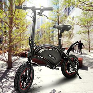WOWO Folding Electric Bike