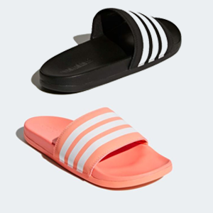 b2a17c1c6 Adidas – Adilette Cloudfoam Plus Slides (2 Colors)