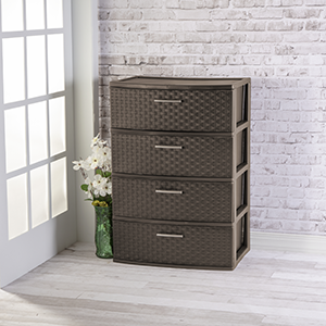 Drawer Wide Weave Tower
