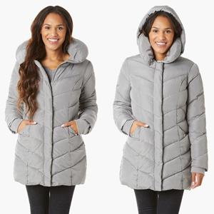 Women's Chevron Coat