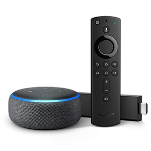 Fire TV Stick with Echo Dot