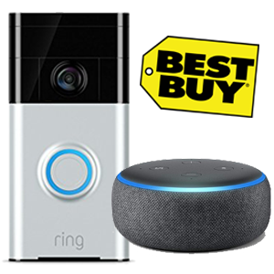 Echo Dot with Ring Bell